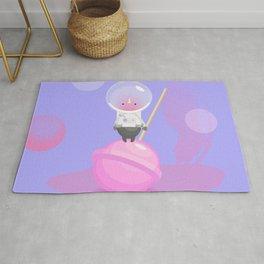 little astronaut Rug