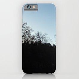 Nature, landscape and twilight 2 iPhone Case