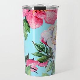 Clic Floral Elegance Luxurious Design Travel Mug
