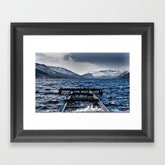 The Loch Framed Art Print