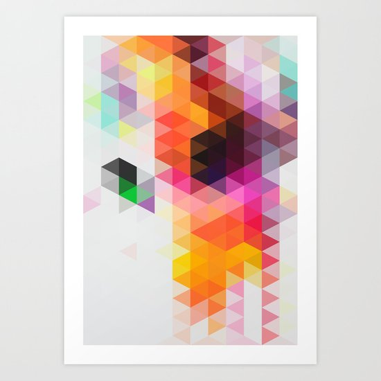 Rainfall 01 Art Print By Three Of The Possessed Society6
