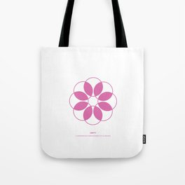 Design Principle EIGHT - Unity Tote Bag