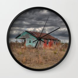 Lonely Old House on the Hill Wall Clock