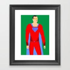 Superman (XII) Framed Art Print