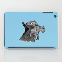 newspaper iPad Cases featuring Newspaper Lions by Doolin