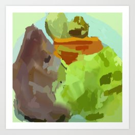 Pork, Cabbage and Potatoes Art Print