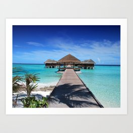 Tropical,exotic background Art Print