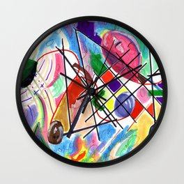 We are All Connected Wall Clock