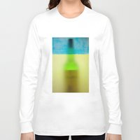 rothko Long Sleeve T-shirts featuring rothko black & white by Arding