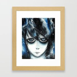 L space Framed Art Print