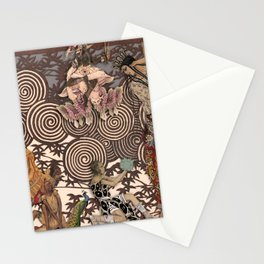 Dawn at The Ballets Russes Stationery Cards