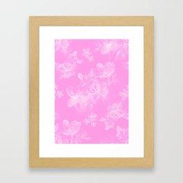 Springflower Framed Art Print