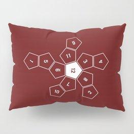 Unrolled D12 Pillow Sham
