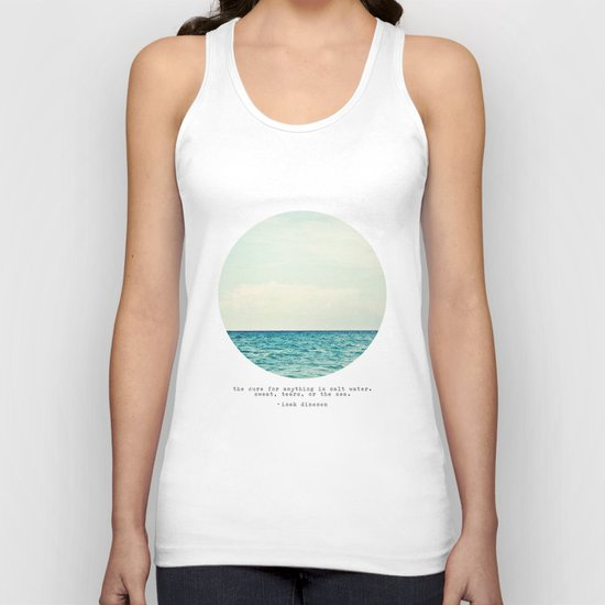 Salt Water Cure Unisex Tank Top
