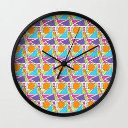 Sunny Shapes Wall Clock