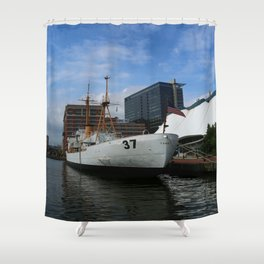 Taney- United States Coast Guard 35 Shower Curtain