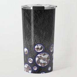 Asteroid Belt of Silver Moons Travel Mug