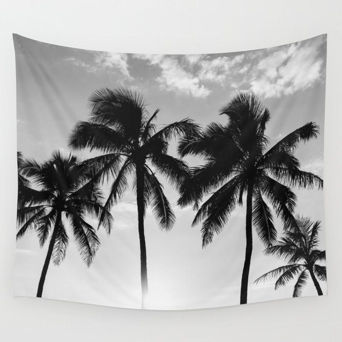 Hawaiian Palms II Wall Tapestry