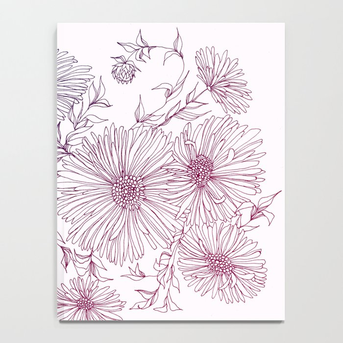 Chrysanthemum Notebook