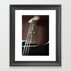 Up close Tele Framed Art Print