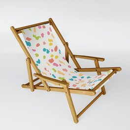Colorful Animal Print Sling Chair