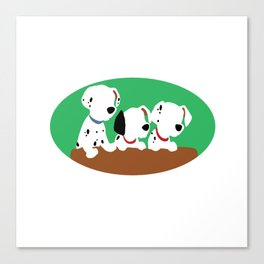 101 Dalmations Canvas Print