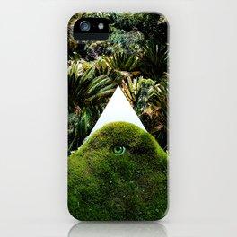 Arcana Academy - green triangle iPhone Case