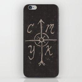 CMYKompass iPhone Skin