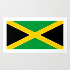 Flag of Jamaica Art Print
