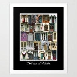 Doors of Metuchen Art Print