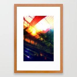 Terminal at Sunset Framed Art Print