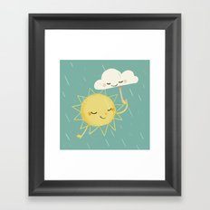 Little Sun Framed Art Print