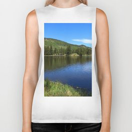 A Glorious Morning In The Rockies Biker Tank