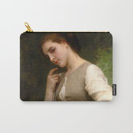 """William-Adolphe Bouguereau """"The Shepherdess"""" Carry-All Pouch"""