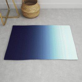 Blue Dark to Light Ombre Rug