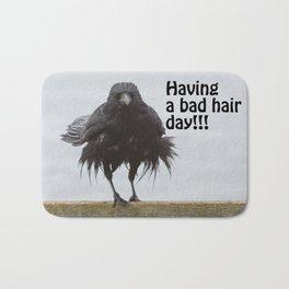 Bad hair day Bath Mat