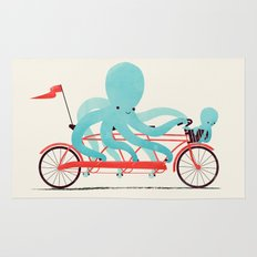 My Red Bike Rug
