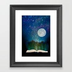 Open Your Imagination Framed Art Print