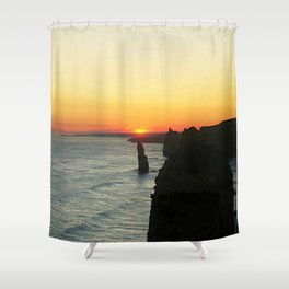 Sunset over the Great Southern Ocean Shower Curtain