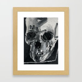 Study 7 for the detail of a larger work. 2017. Framed Art Print
