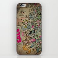 sale iPhone & iPod Skins featuring Sale by Matt Jeffs