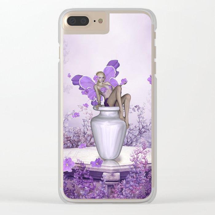 Beautiful fairy Clear iPhone Case