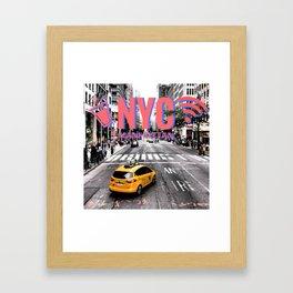 NYC | 3D Anaglyph Framed Art Print
