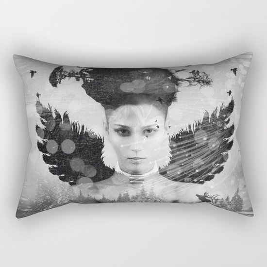 Skadi II Rectangular Pillow