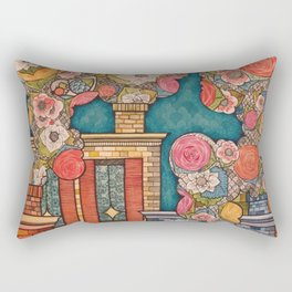 Chimney Fields Rectangular Pillow