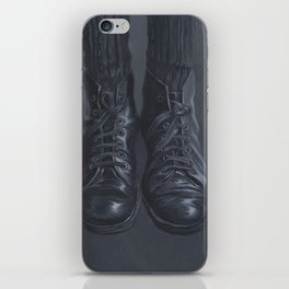 Old Worn out Boots iPhone Skin