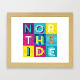 Northside Framed Art Print