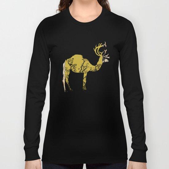 FabCreature · CaDeerPa 2 Long Sleeve T-shirt