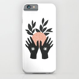 of her, of earth iPhone Case