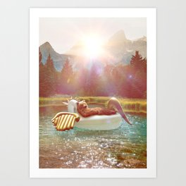 ataraxia Art Print